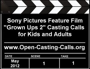 Grown Ups 2 Open Casting Calls