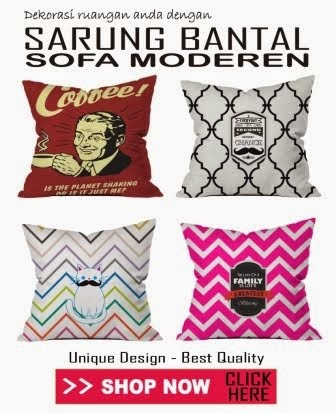 Sarung Bantal Kursi dan Sofa