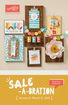 Sale-a-brations=free products!