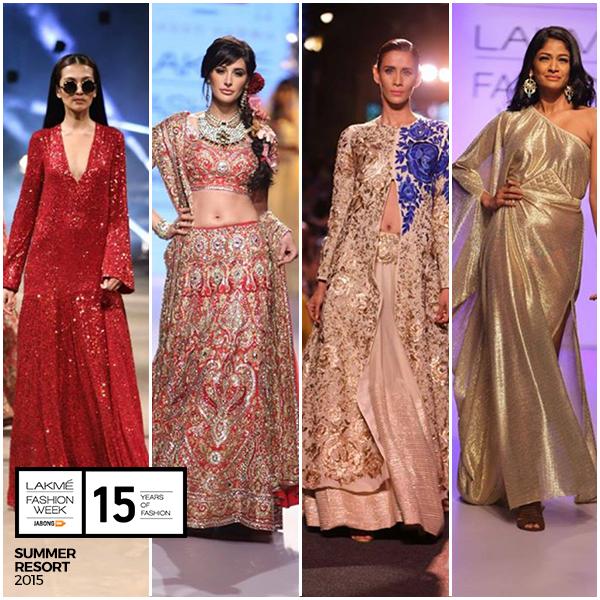 Overview of Lakme Fashion Week Summer/Resort 2015 | Different collections of Lakme Fashion Week Summer/Resort 2015