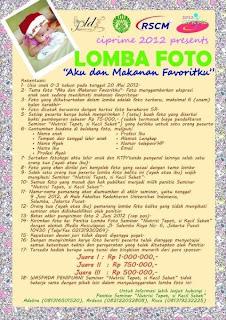 Lomba Foto Balita Ciprime 2012 dunialombaku.blogspot.com