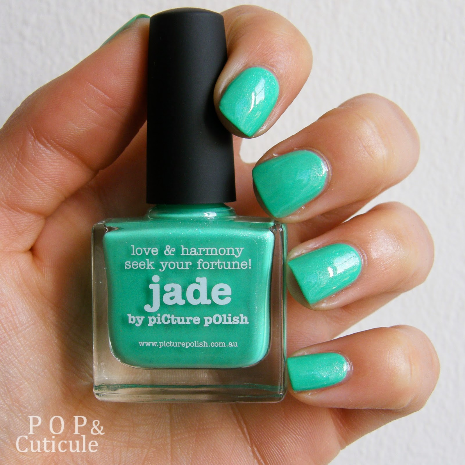Pop & Cuticule Jade Picture Polish