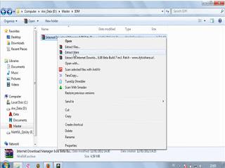 Cara Registrasi Internet Download Manager  IDM