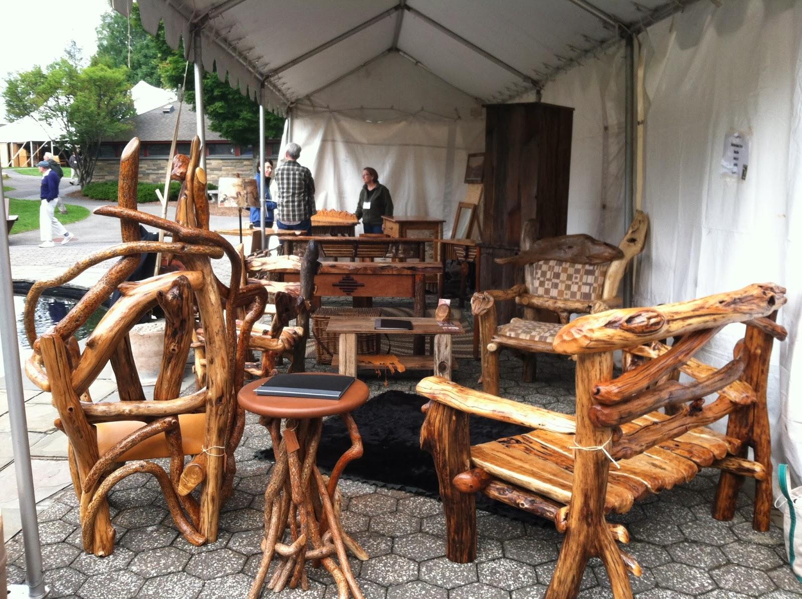 Adirondack Rustic Furniture Fair 2013