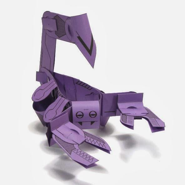 Skorpod Paper Toy