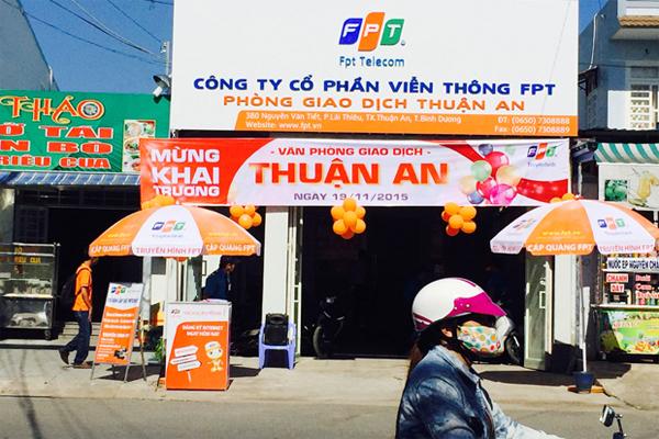 Văn Phòng Giao Dịch FPT Thuận An Khai Trương