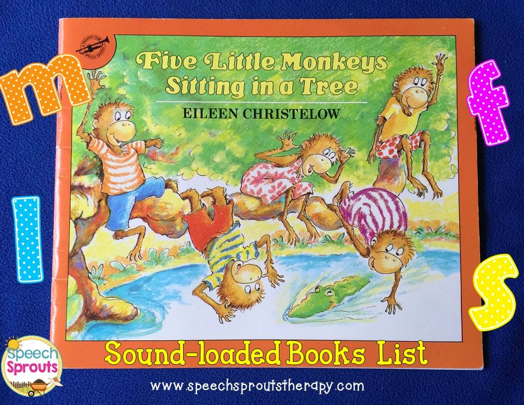 Sound-loaded storybook List for Speech Therapy