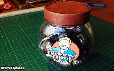 Emergency Fallout piggy bank bottle cap saver