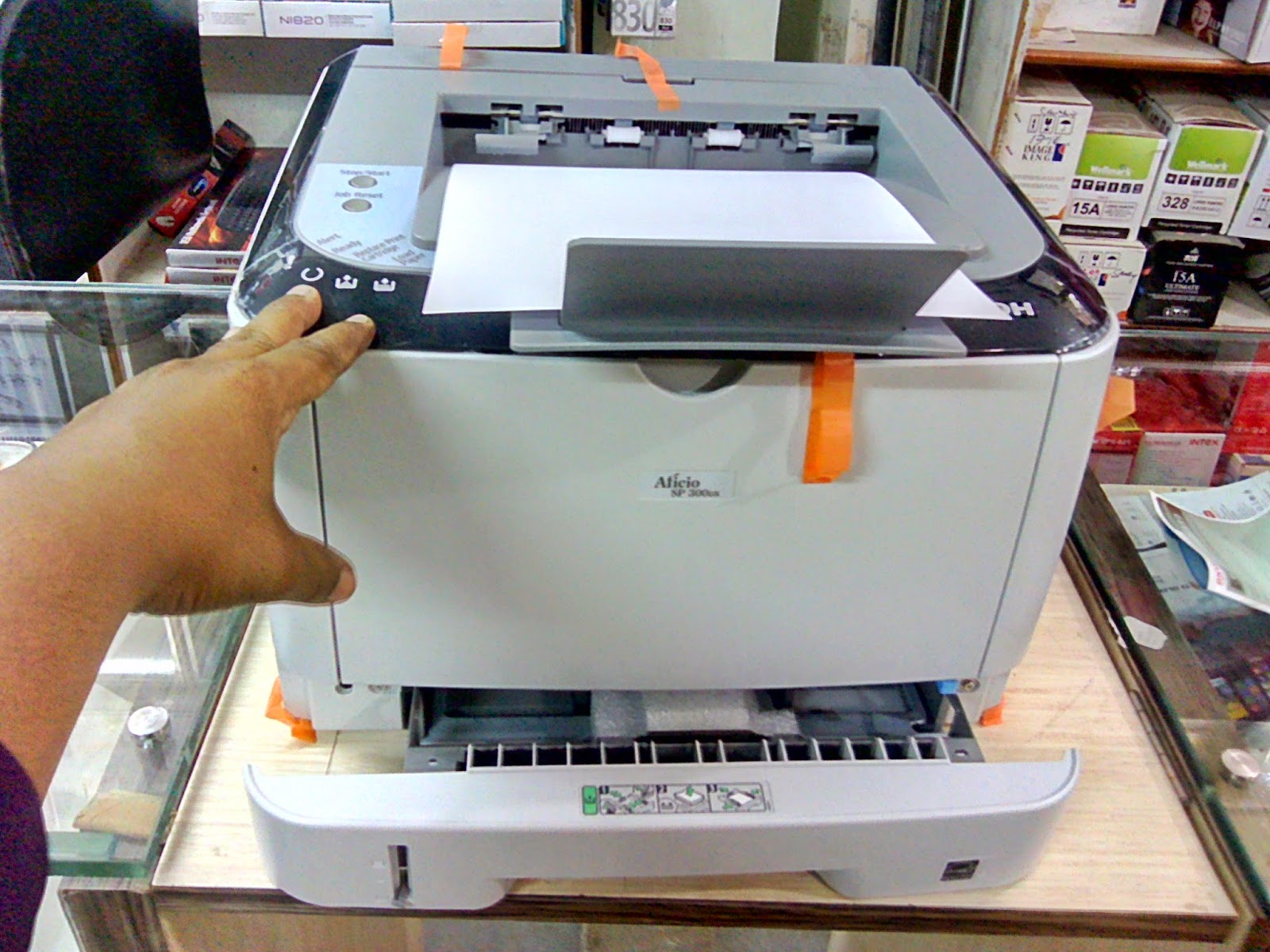 Ricoh-Aficio SP 300DN Duplex Printer Price, Specification & Unboxing picture, image, photo