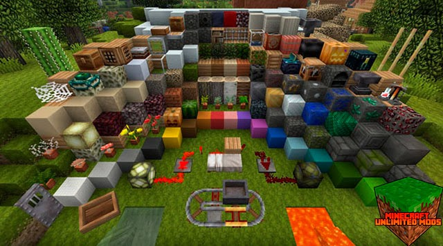Pixel Reality Texture Pack todos los items