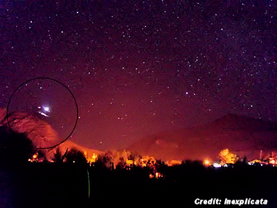 UFOs Over the Atacama Region