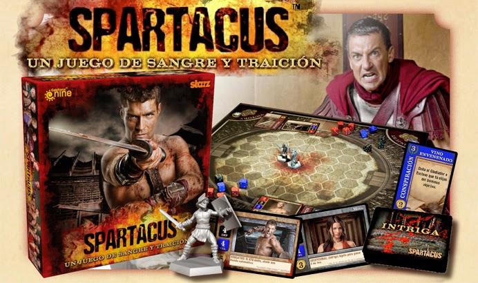 Juego de Mesa Spartacus