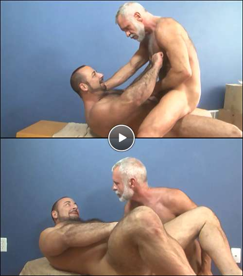 silver daddy fucking video