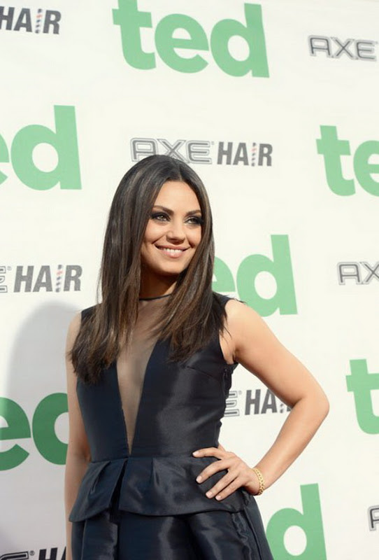 Mila Kunis arrives for Ted Premiere in LA