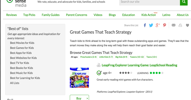 Excellent Strategy Games to Teach Kids Logical Thinking