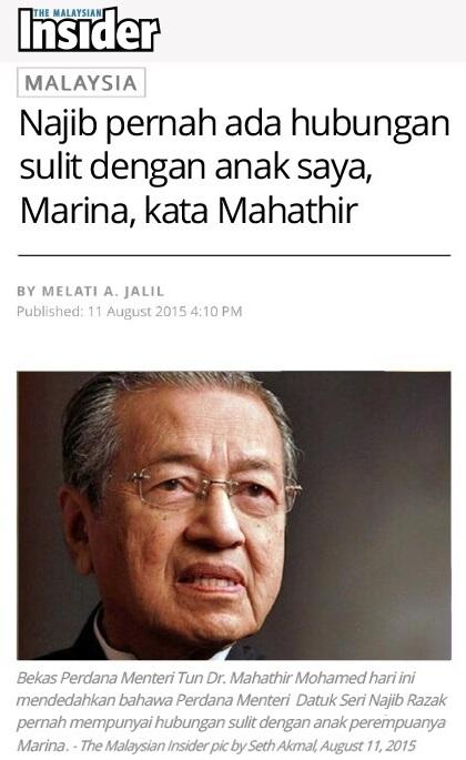 Hubungan Sulit Najib