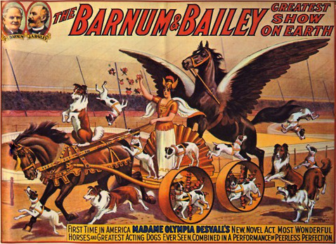 Barnum Effect, Greatest Show on Earth, PT Barnum