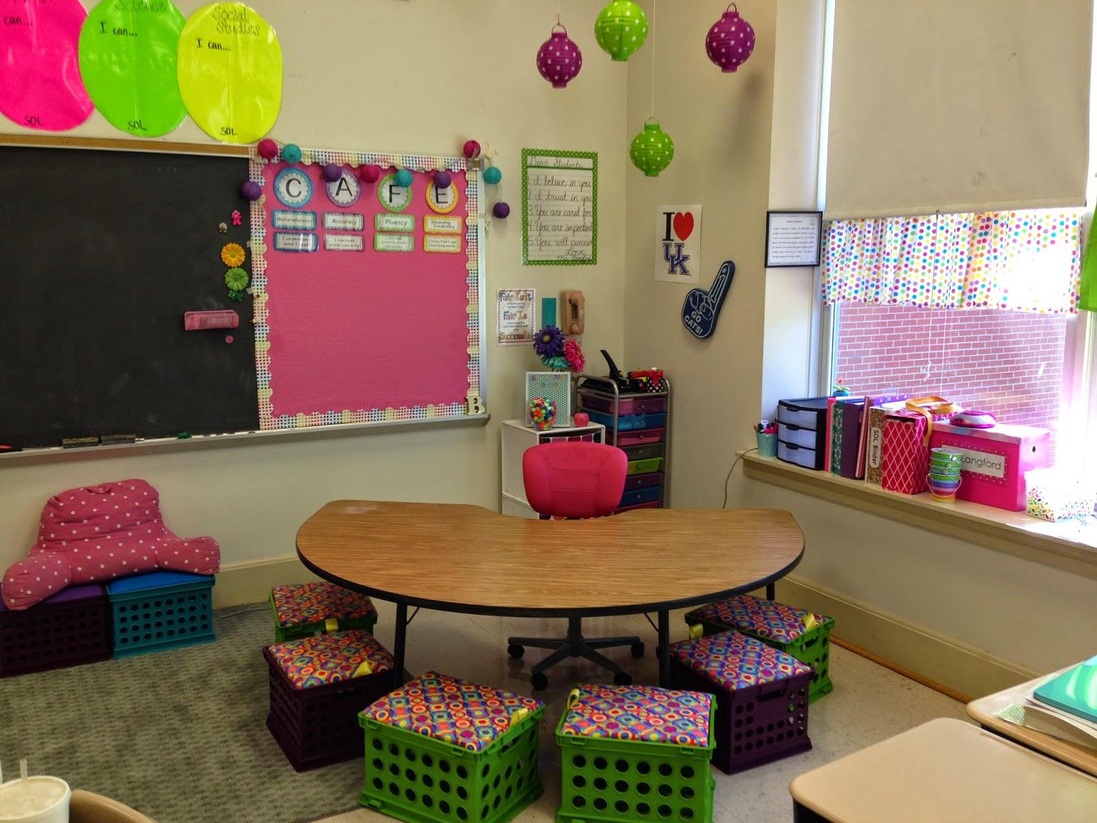 Fourth Grade Fab Classroom Reveal