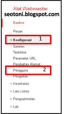 Cara Verifikasi Blogspot di Google Web master