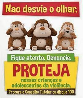 AS CRIANÇAS PRECISAM DE AMOR E PROTEÇÃO..
