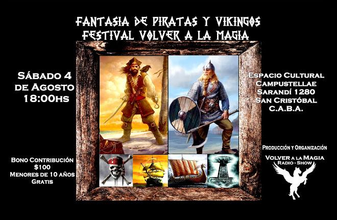 FESTIVAL FANTASIA DE PIRATAS Y VIKINGOS
