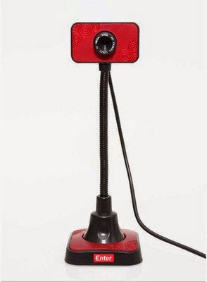 Buy Enter E-60MP Web cam with Mic (Red) at Rs.289 at Amazon: Buytoearn