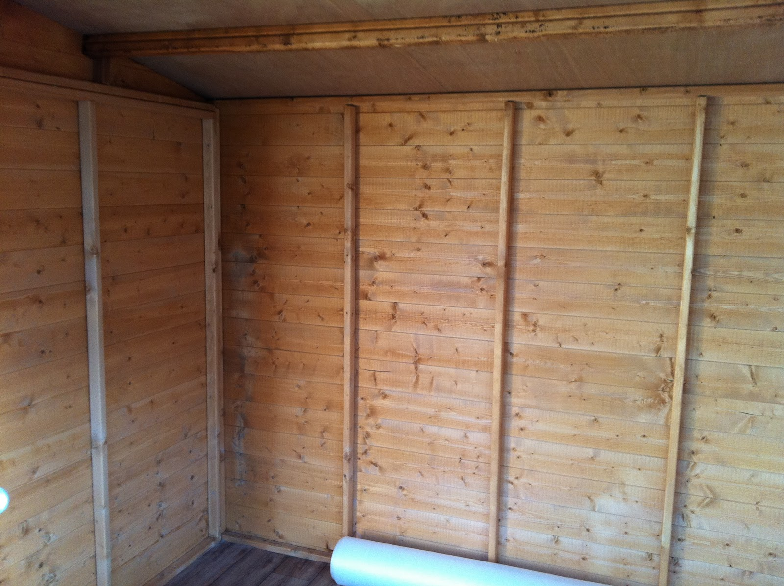 Frazer jess joinery and maintenance garden shed gym for Garden shed gym