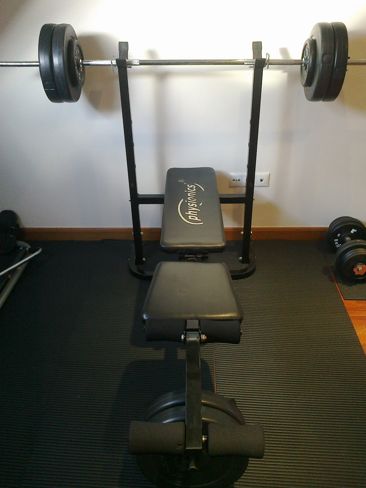 El blog de entrenamiento f sico y alimentaci n mi peque o - Como hacer un gimnasio ...