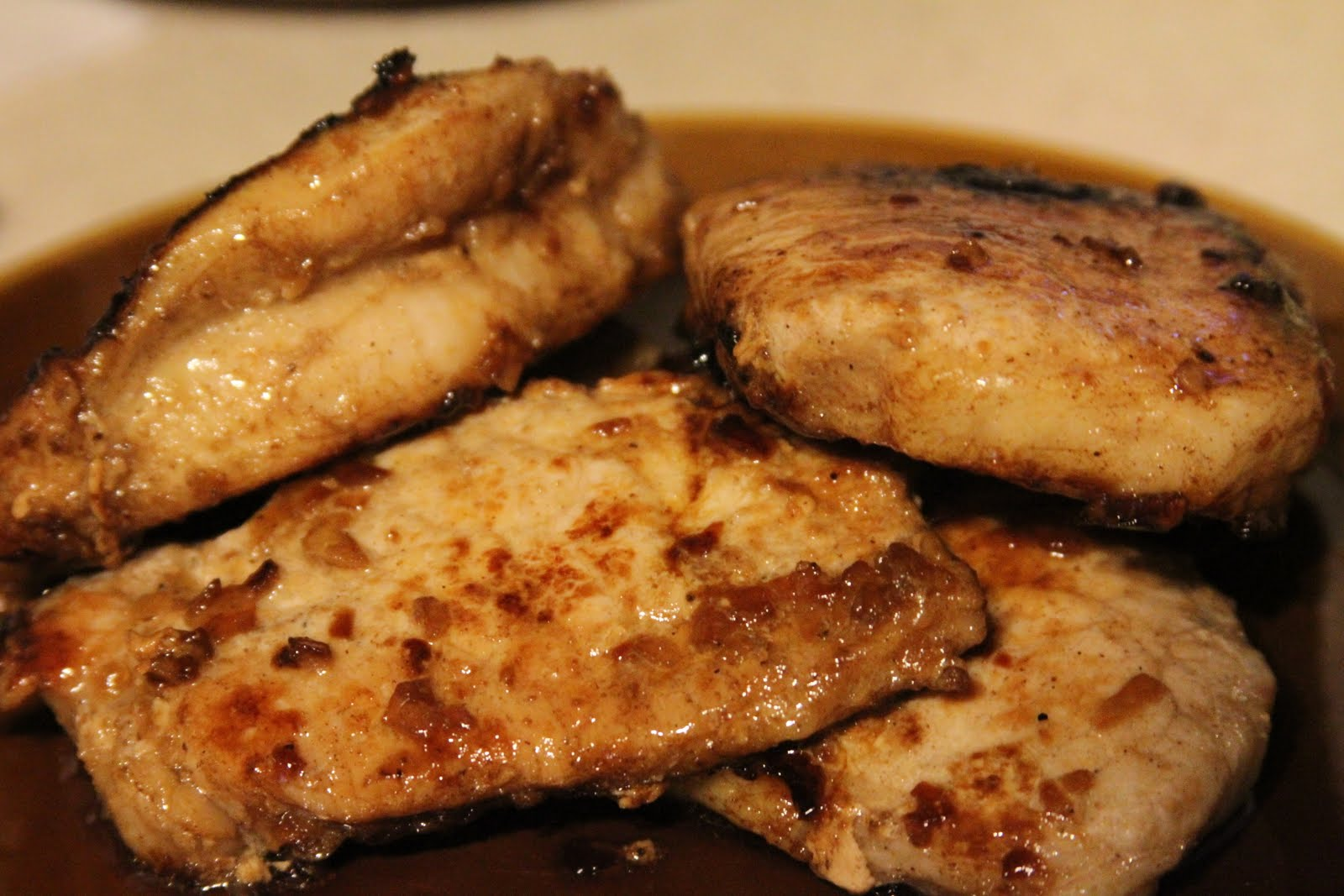 Home Kine Grindz: Five-Spiced Pork Chops