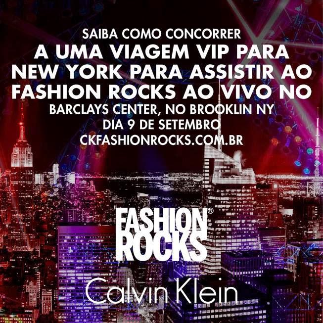 "Concurso Cultural Calvin Klein Brasil - ""#KFASHIONROCKS"""