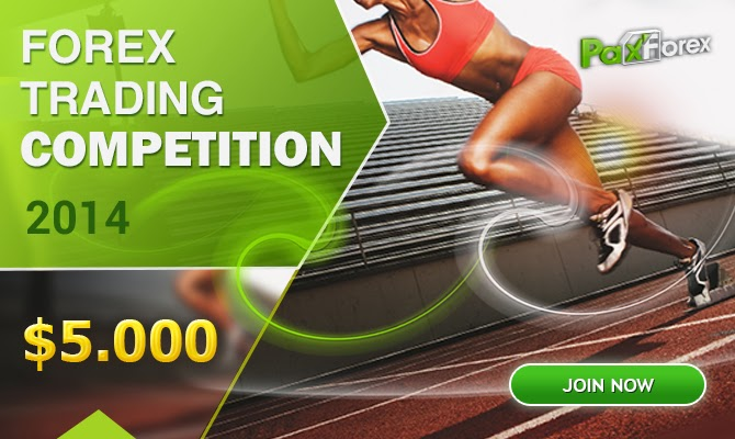 PaxForex 5000$ Forex Trading Competition 2014