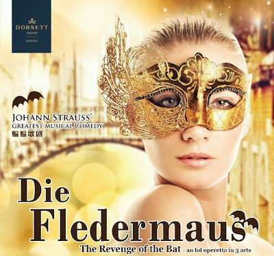 Die Fledermaus, Revenge of the Bat, Operetta, opera, Johann Strauss, Dorsett Grand Subang