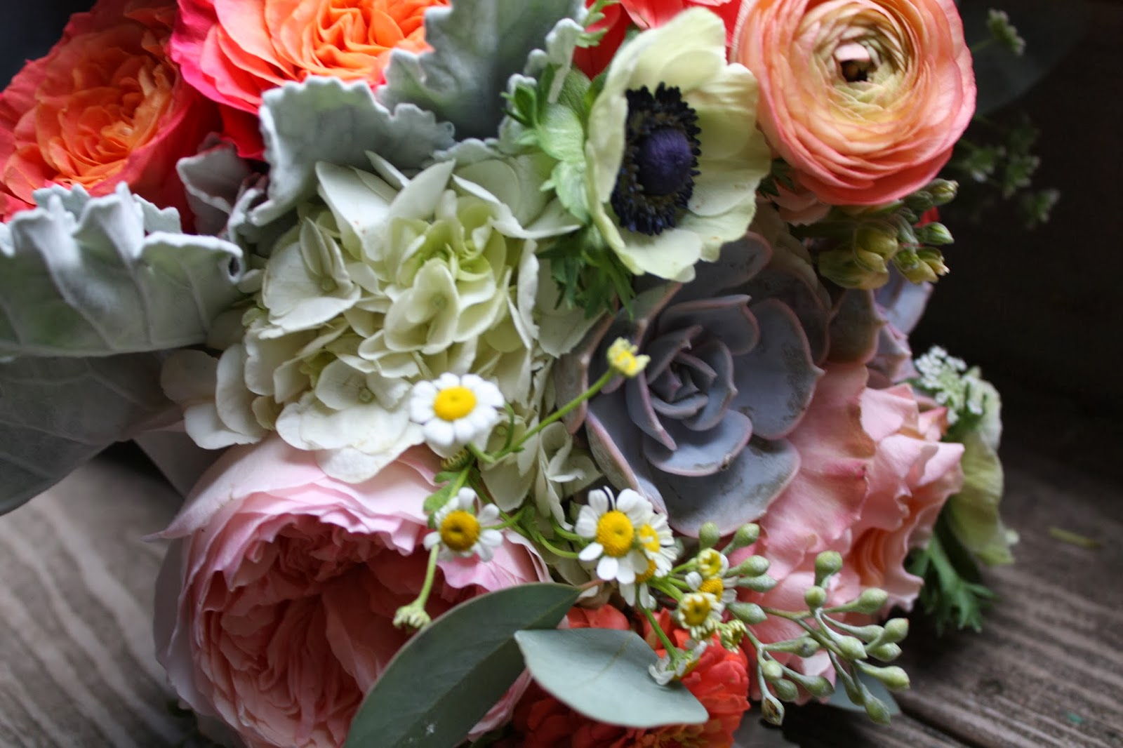 Googlier garland search date 20180216 bridesmaids carried a gorgeous mix of coral silver yellows greensi loved the mix fandeluxe Images