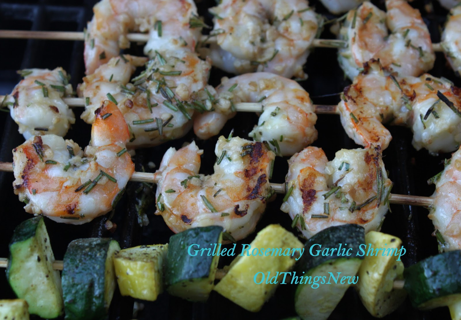 Grilled Shrimp With Rosemary Recipe — Dishmaps