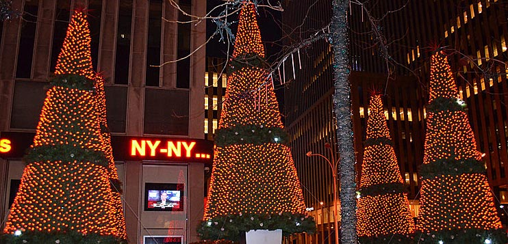 Take a trip to the New York North Pole this year at Macy's' iconic Santaland. Perfect for the whole family, the 13,square-foot holiday display and indoor wonderland is located inside the Herald Square Macy's at West 34th Street.