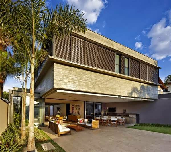 Brazilian Outdoor Living House Plan Boasts An Amazing