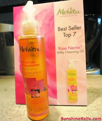 Melvita Rose Nectar Milky Cleansing Oil, Melvita Top 10 Best Sellers, Organic skincare, organic beauty care, Melvita