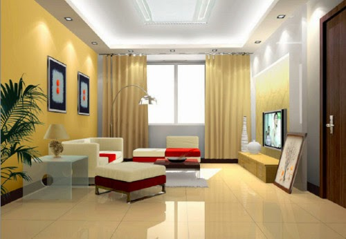 Lighting Layout In The Living Room