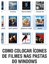 Como colocar ícones de filmes nas pastas do Windows