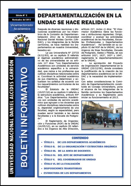 Boletín N° 2 - 2012