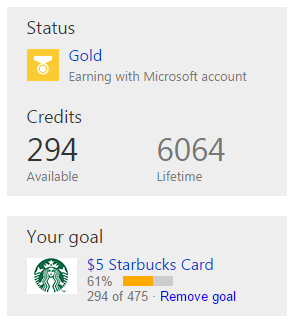 Get Paid to Search with Bing Rewards