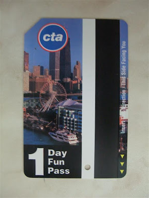 cta 1 day fun pass, chicago, train, bus pass