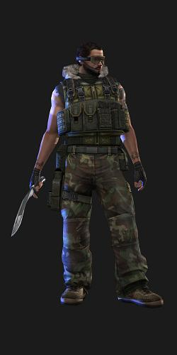 Project Blackout | Aurochs Project Blackout Character for Counter Strike 1.6 and Condition Zero
