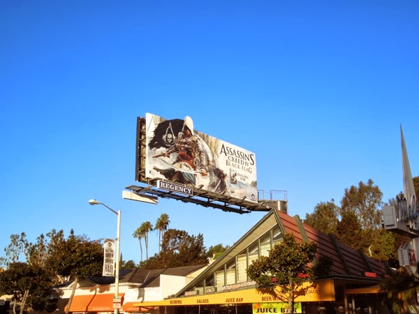Assassin's Creed IV Black Flag billboard