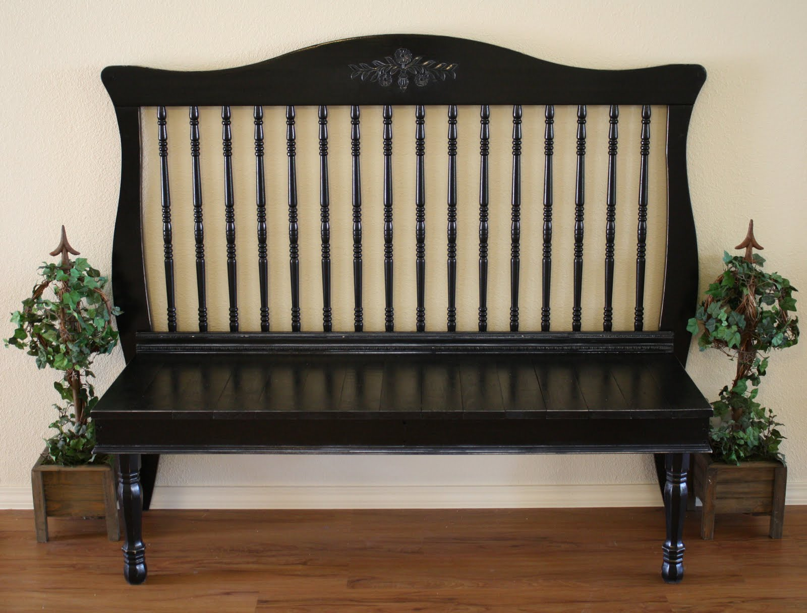 Dishfunctional designs check out my crib upcycled baby cribs for Furniture upcycling