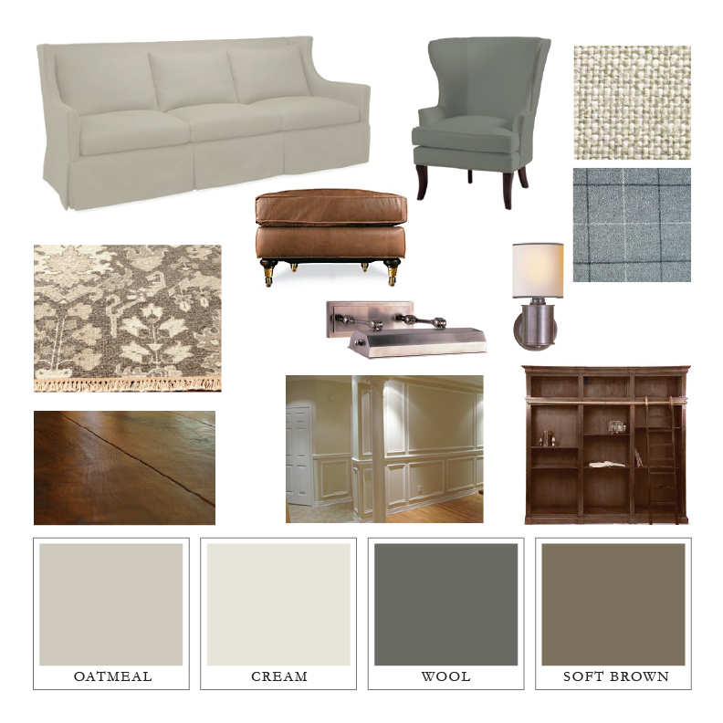 Jenny Steffens Hobick: Jill\'s House | Living Room Design Board ...