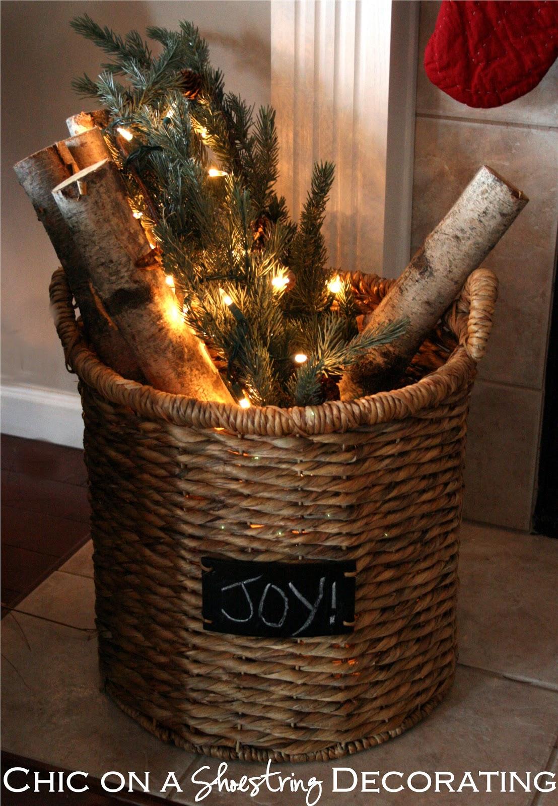 Rustic christmas mantel decorating - Rustic Christmas Decor