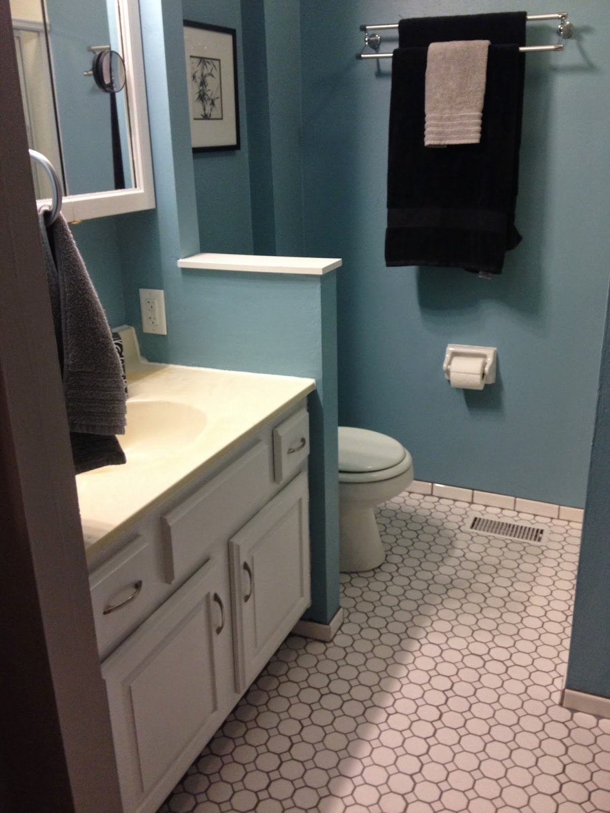 Small Bathroom Redone In A BIG Way!