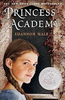 bookcover of PRINCESS ACADEMY  by Shannon Hale