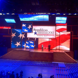 Republican National Convention Stage